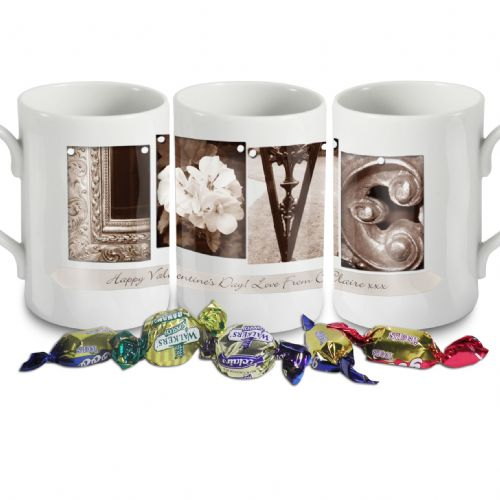 Personalised Affection Art Love Mug
